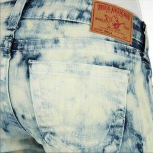 True Religion Tye Dye distressed Stella jeans 27